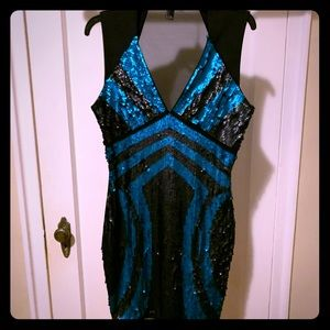 Sequined dress, size L